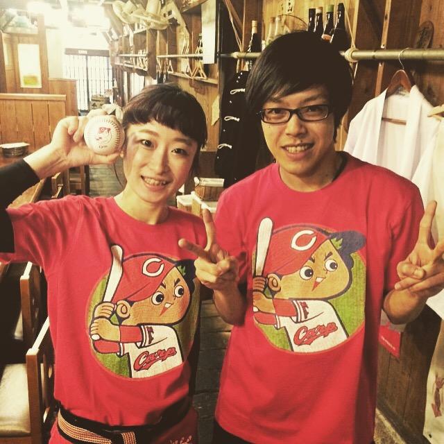 広島カープTシャツ